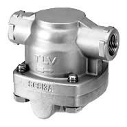Odvádzače kondenzátu s voľným plavákom na rozvody pary, súbežné vyhrievanie potrubí a menšie procesy
